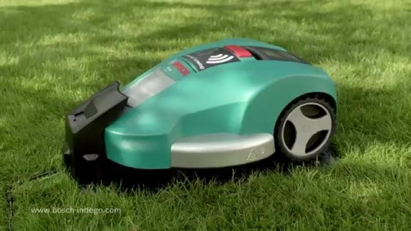 Робот-газонокосилка Bosch Indego