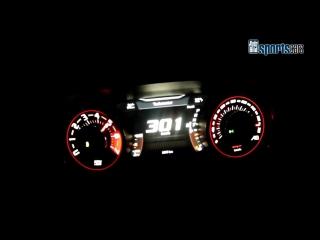 Dodge Challenger Hellcat - 0-300 km_h Acceleration