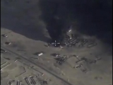 Уничтожение нефтеузла боевиков юго-западнее РАККА. Сирия.