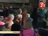 ХX-ый легкоатлетический пробег посвященный 99-ой годовщине города-героя Мурманска среди воспитанников дошкольных образовательны