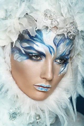 Фантазийный макияж от