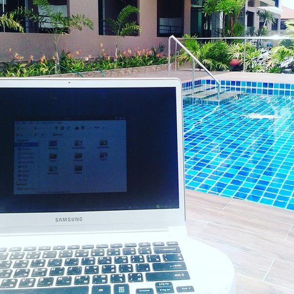 Good morning for work. Space residents pool...