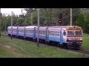 «Не своей ниткой» ЭР9Т-672  ЭР9Т-668 рейсом 6310 Чернигов - Нежин