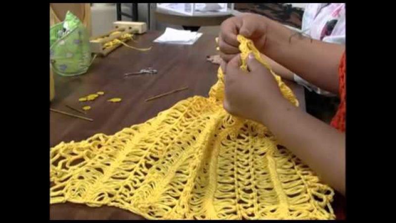 Mulher.com 19/11/2012 Eliete Massi - Blusa com crochê de grampo 2/2