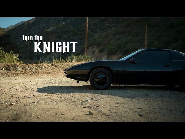 1986 Pontiac Firebird - DAVID HASSELHOFF with KITT from Knight Rider