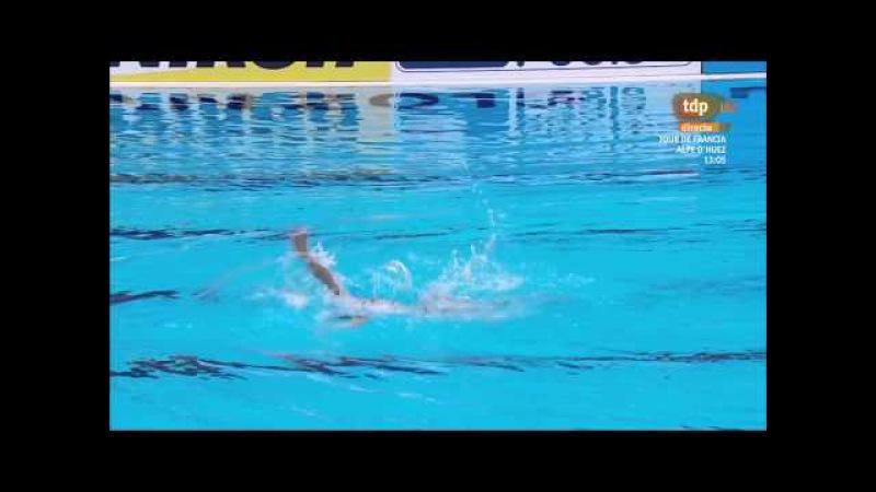 Evangelia Platanioti. 2015 World Championships. Solo Technical. Peliminary