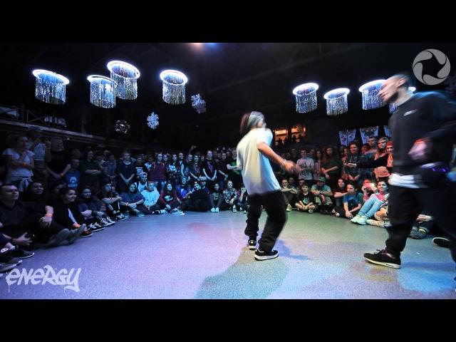 Alex The Cage vs Odyssey | ENERGY 2014