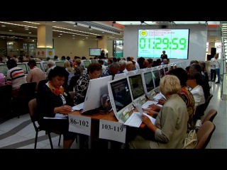 Олимпиада пенсионеров - Доброе утро - Первый канал
