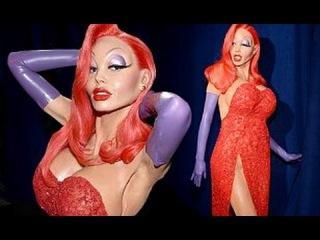 Heidi Klum's Halloween 2015 Costume Revealed as VERY Curvy  Jessica Rabbit!!!