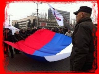 Захват  Облгосадминистрации в Донецке 01 03 2014 Capture of the  Donetsk administration