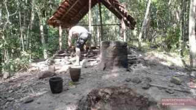 Primitive Technology: Tiled Roof Hut