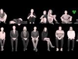 Музыкальный клип На нарах Дина Верни на жестовом языке с субтитрами