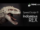 Speed Sculpt 9a Indominus Rex part 1