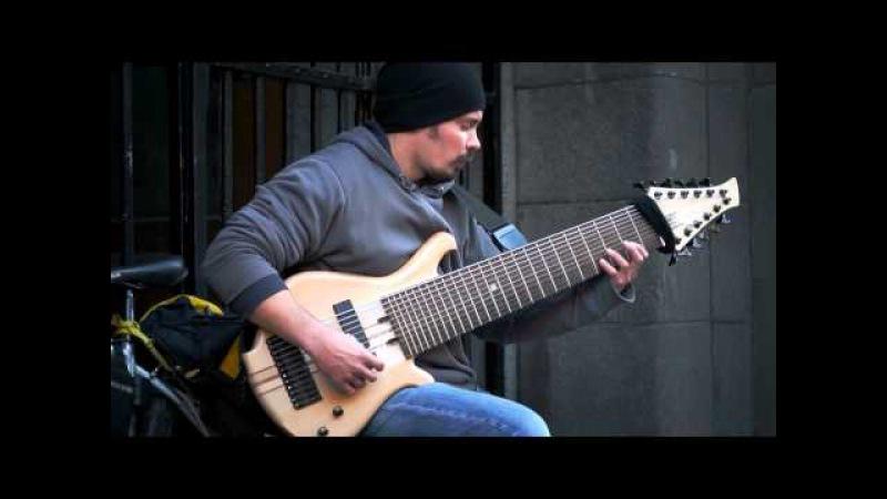 Уличный музыкант Василий Чернов   Street Musican Vasily Chernov