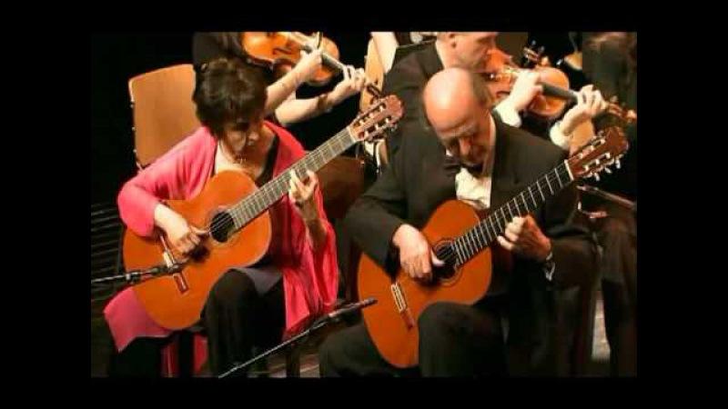 Vivaldi: Concerto for 2 mandolins in G major RV532 - Evangelos Liza guitar duo