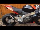 Aprilia RSV4 Factory APRC standard Exhaust and Austin Racing GP2