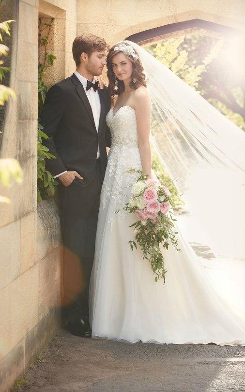 8luddE akLs - Свадебное платье: коллекция 2016 Essense