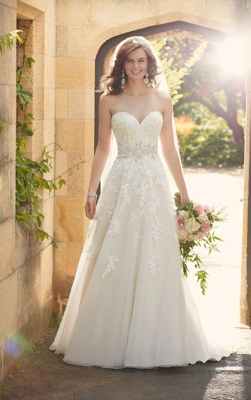 6PNkfHQORlU - Свадебное платье: коллекция 2016 Essense