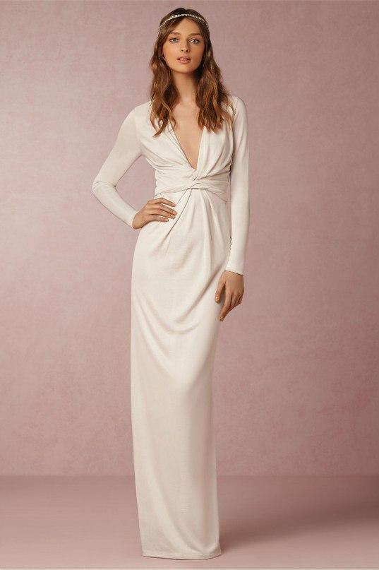 D07V36yaZNw - Свадебные платья 2016 от бренда BHLDN