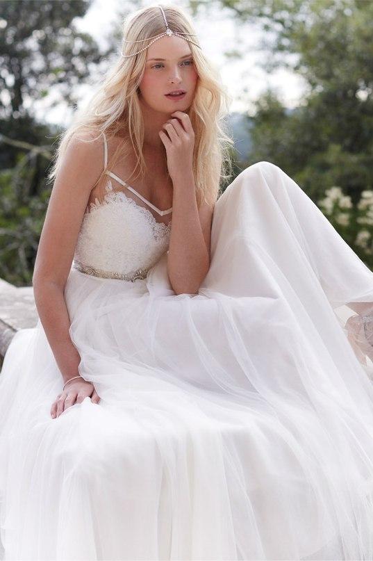 hf8zMUPUWr4 - Свадебные платья 2016 от бренда BHLDN