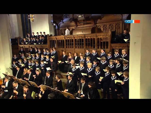 J.S. Bach Matthaeus-Passion BWV 244 - Thomaskirche zu Leipzig Eingangssatz..