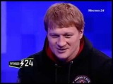 Александр Поветкин анализирует бой с Владимиром Кличко на телепередаче