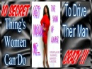 G.I.M 10 Secret Things Women Can Do To Drive Their Men CRAZY