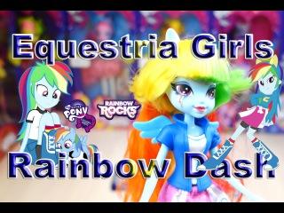 Мой маленький пони Девушки Эквестрии игрушка Рэйнбоу Дэш из коллекции Equestria Girls