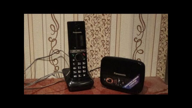 Обзор Городского Радиотелефона Panasonic KX-TG8081RUB - [© Обзоры Бытовой Техники и Электроники]