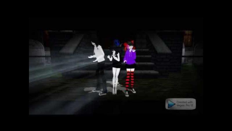 Bad End Night - Jane the killer,Jeff the killer, Jack eyeless, Nina the killer