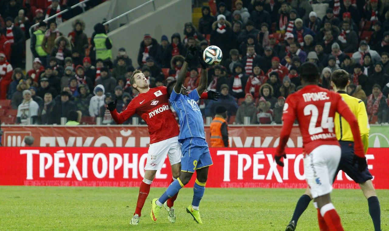 В какой футбол играет «Спартак» Якина
