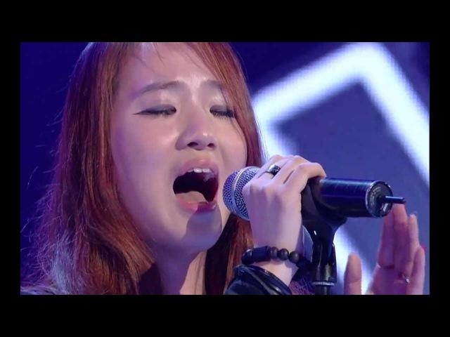 보이스코리아 시즌1 - [보이스코리아_이소정] Pretending to Smile sung by So-Jung Lee @The Voice Korea_Ep.3