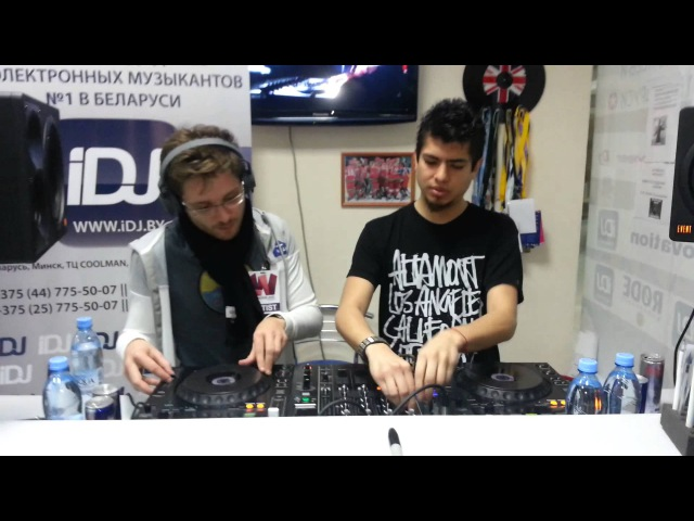 Alexandre Bergheau B2B Matias Faint (Heatbeat) @ iDJ.by (Master-class TranceNation GOLD)