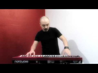 Clavia Nord Wave Monster Pack by Leadsounds performed by S4K team Space4Keys Keyboard Solo