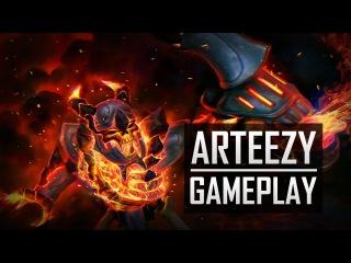 Team Secret Arteezy Clinkz Gameplay