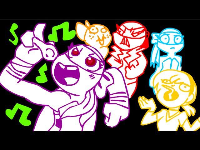 TMNT-G! Karaoke at Aprils - RWBY