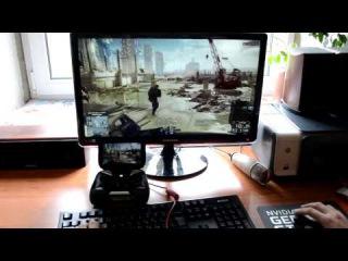 Как играть в компьютерные ПК PC игры на Android с клавиатурой и мышью (Nvidia Shield Stream)