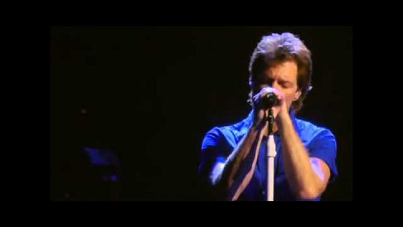 Bon Jovi Hallelujah Live from Madison Square Garden 2008