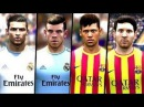 "FIFA 14: Neymar & Messi | Ronaldo & Bale ""Best In The World"""
