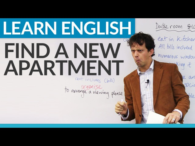 Real English Phrases for finding an apartment
