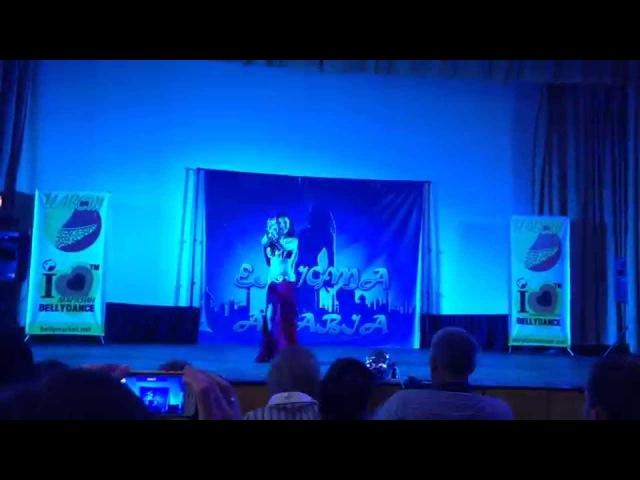 Danaya bellydancer opening fashion show by Maria Kapinus