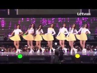 150523 Lovelyz (러블리즈) - Intro + Hi~ (안녕) @ Dream Concert 2015