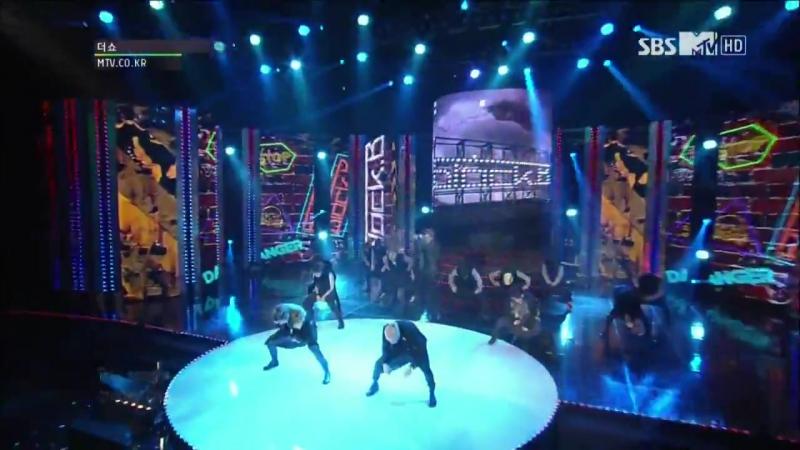 16.11.2012 Zico та P.O MC Block B - Nillili mambo   MTV The Show