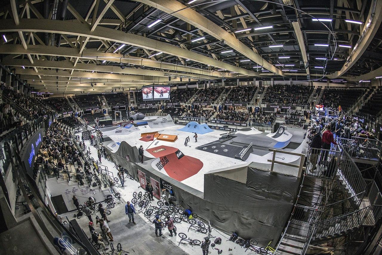 Пример скейт-парка, в котором проводятся крупнейшие мировые соревнования.
