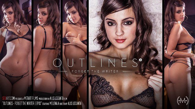 SexArt – Outlines Episode 3 – Forget the Writer – Melena A