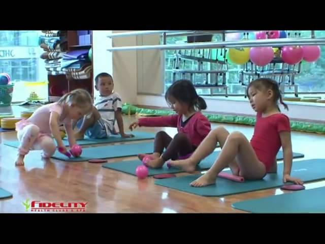 Детский фитнес - Профилактика плоскостопия