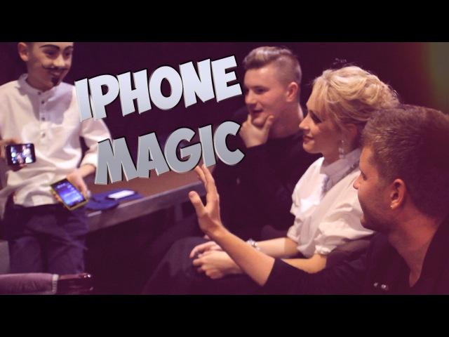 MonChakNorris2 iPhone Magic Магия с телефоном зрителя