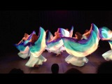 Kayla Bellydance and The Oriental Fantasy Dancers Fusion poi ( voi ) dance !