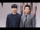 Blood- press conference ★ '뱀파이어 男男케미' 안재현-지진희, 드라마 '블러드' 제작발표&#54