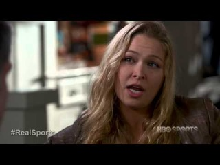 Ronda Rousey on having sex before she fights: Real Sports Web Extra #3 (Feb 2013)